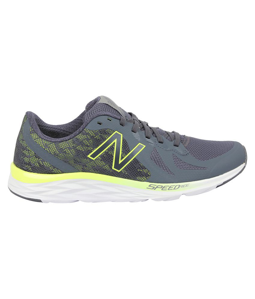 4da1a173ff8bd New Balance Men's Gray Running Shoes New Balance Men's Gray Running Shoes  ...