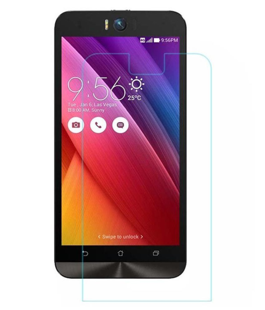 Asus Zenfone 2 Laser Tempered Glass Screen Guard By Robux 4D