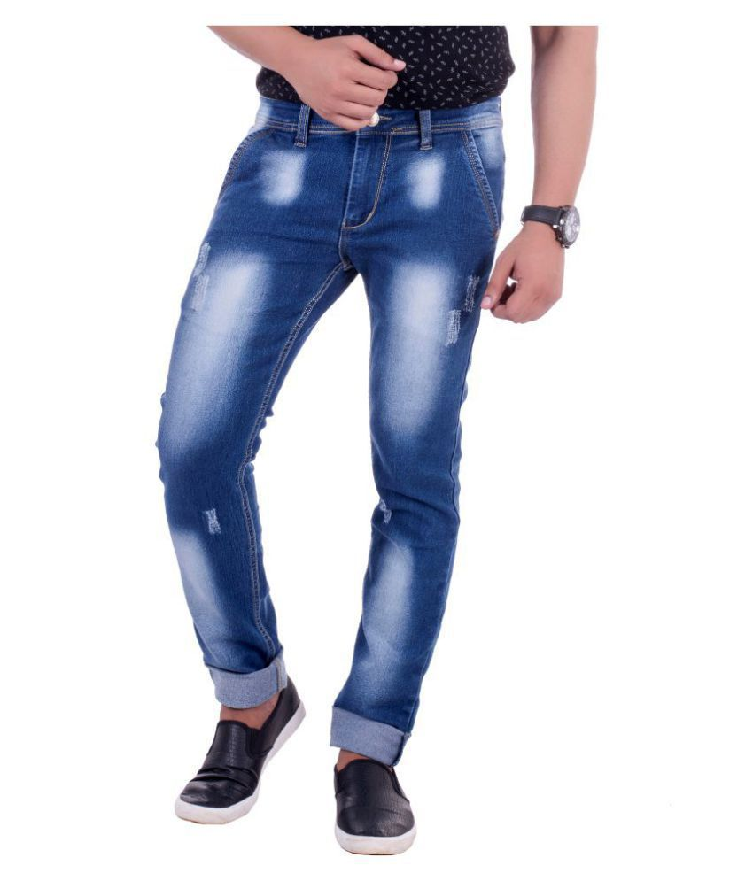 Lobstar Blue Slim Jeans