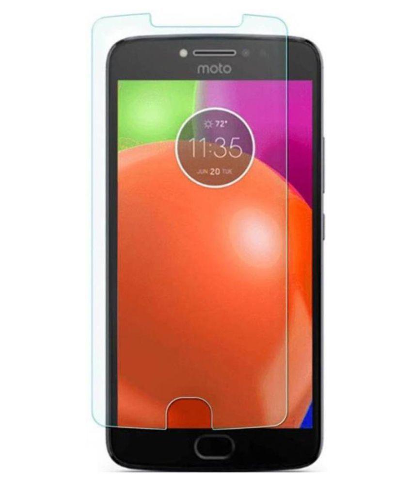 Motorola Moto E4 Plus Tempered Glass Screen Guard By Robux 4D