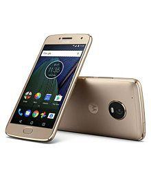 Motorola G5 Plus ( 32GB , 4 GB ) Gold