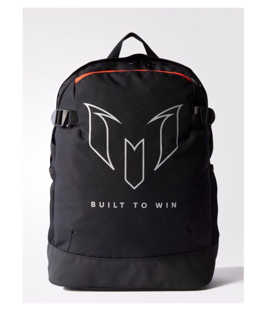 Adidas Black Training Messi Kids Backpack - Buy Adidas Black ... e52c88583b