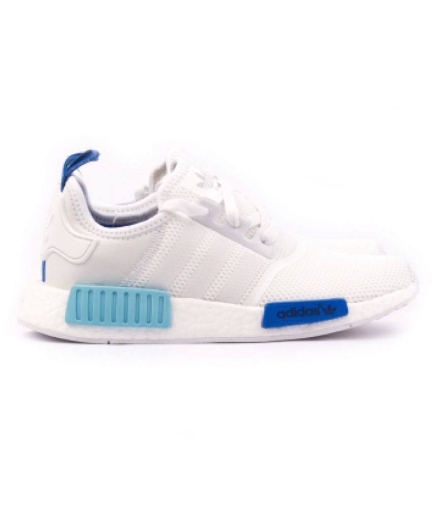 5b29c6f145d66 Adidas NMD White Running Shoes - Buy Adidas NMD White Running Shoes Online  at Best Prices in India on Snapdeal