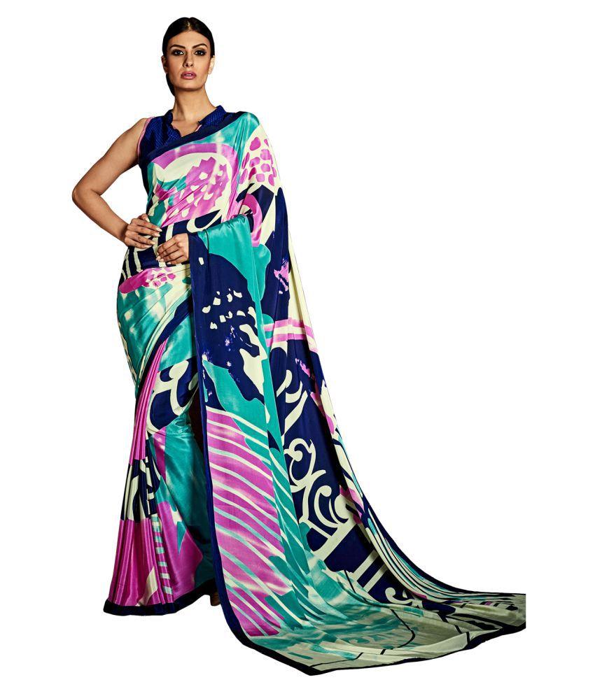 FASHION CARE Multicoloured Silk Saree
