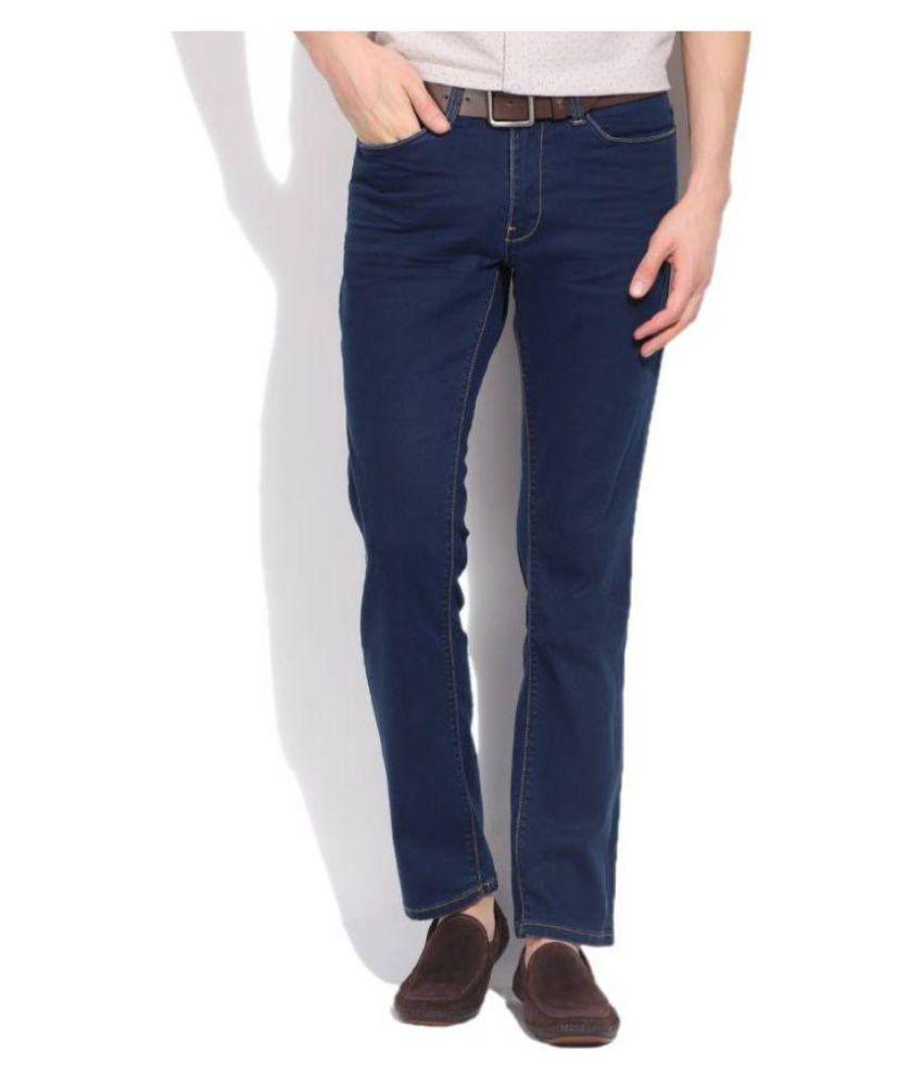 Kenneth Cole REACTION Blue Slim Jeans