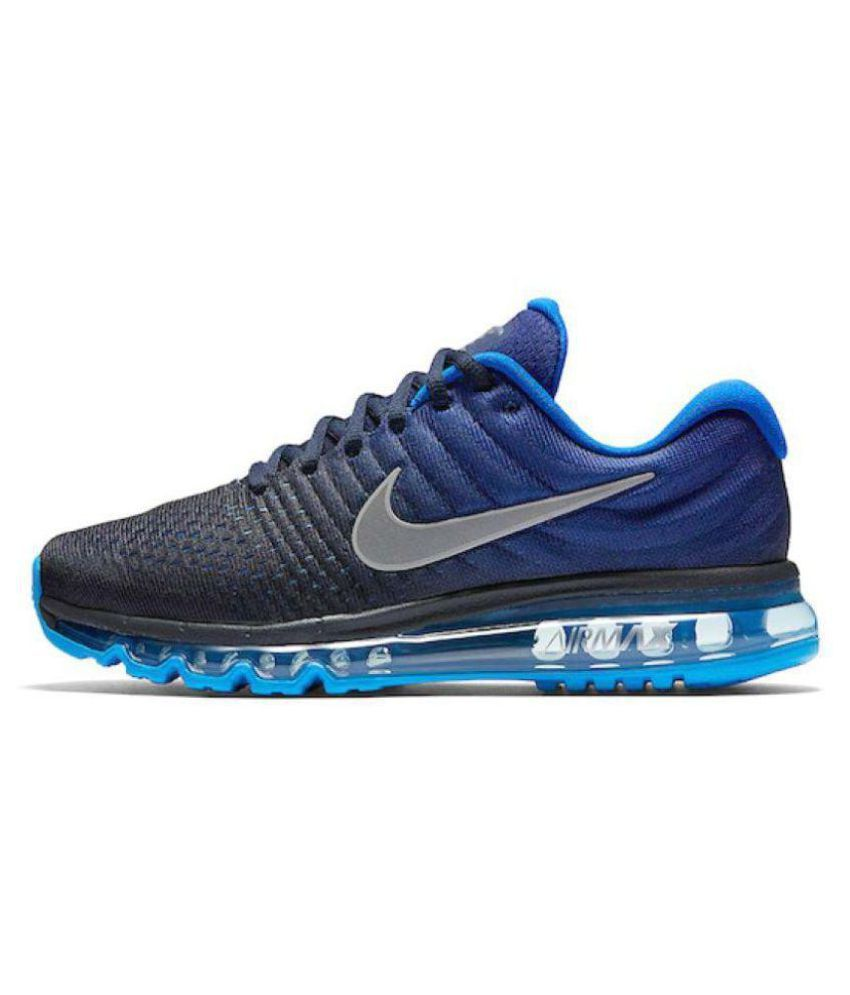 dec0be7701f96 Zoom Air 2017 Blue Running Shoes - Buy Zoom Air 2017 Blue Running Shoes  Online at Best Prices in India on Snapdeal