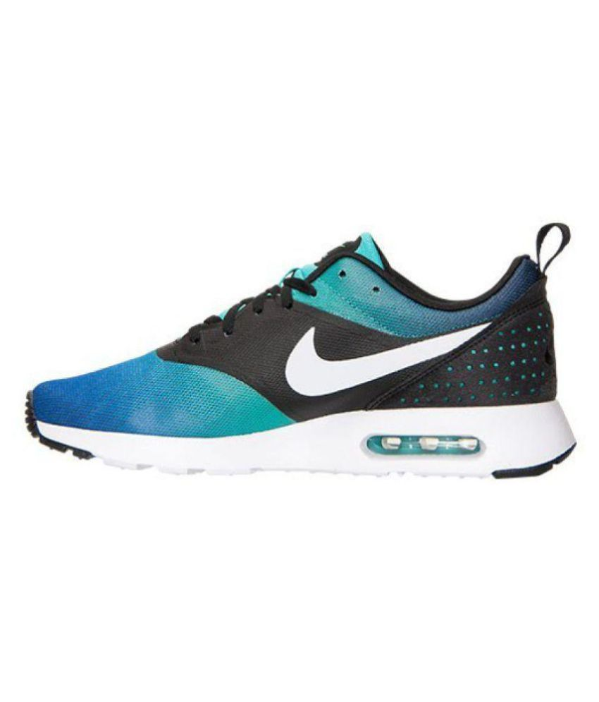 cheap for discount 12186 dd25e Nike Air Max Tavas Blue Running Shoes - Buy Nike Air Max Tavas Blue Running  Shoes Online at Best Prices in India on Snapdeal
