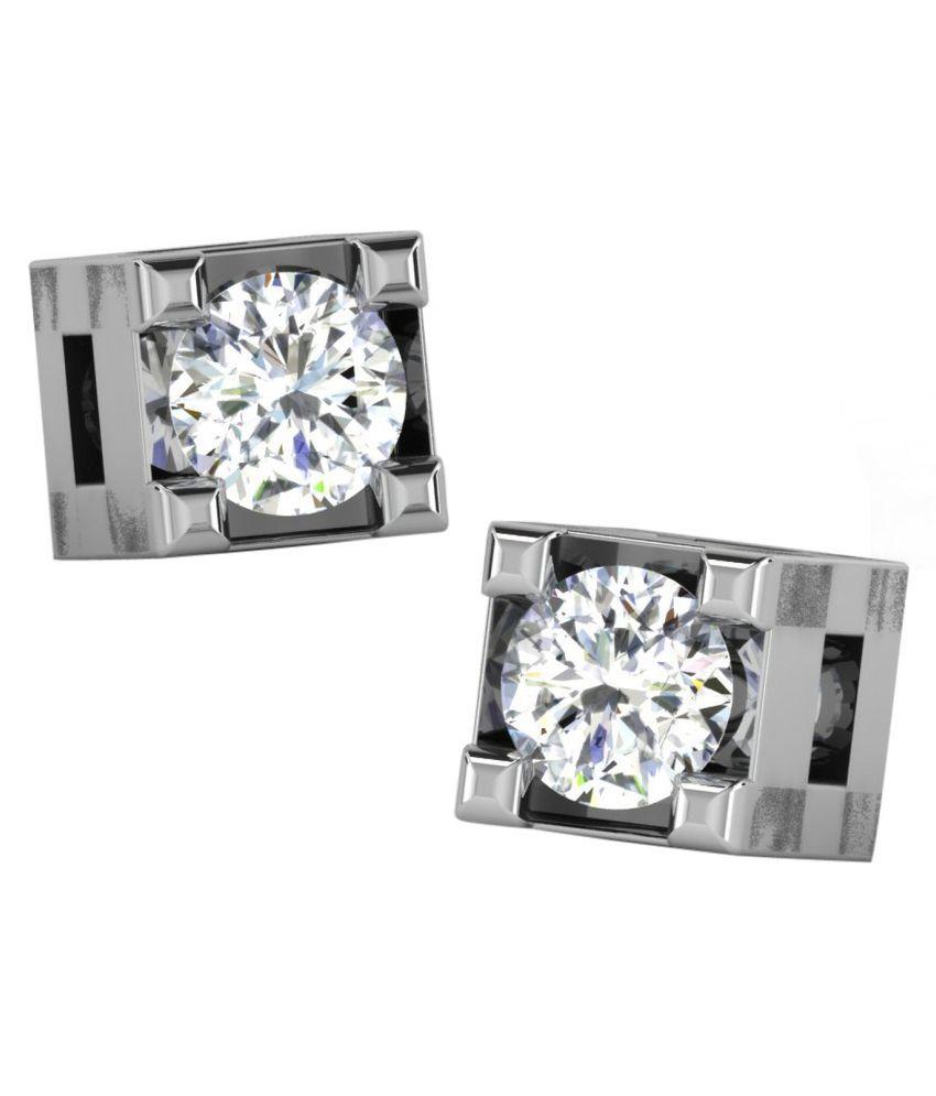 Amigo 9k White Gold Diamond Studs