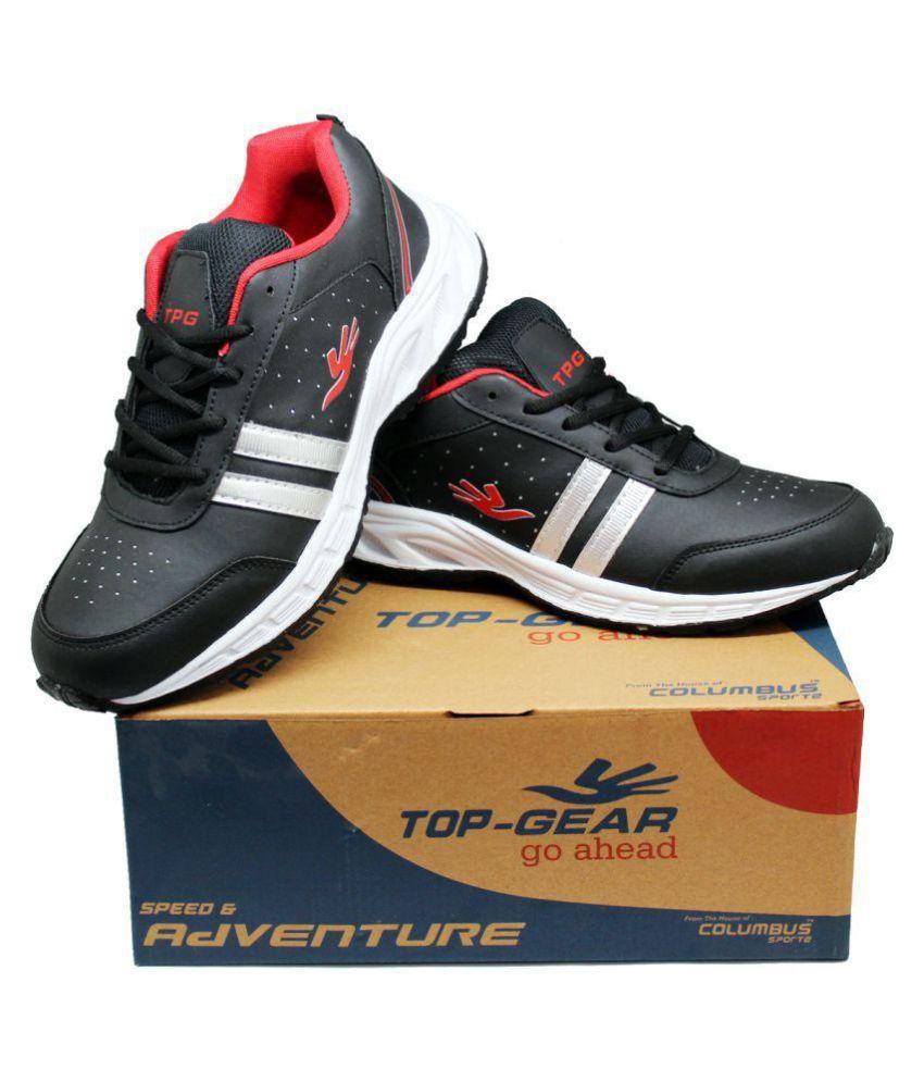 Columbus ES-03 Black Running Shoes
