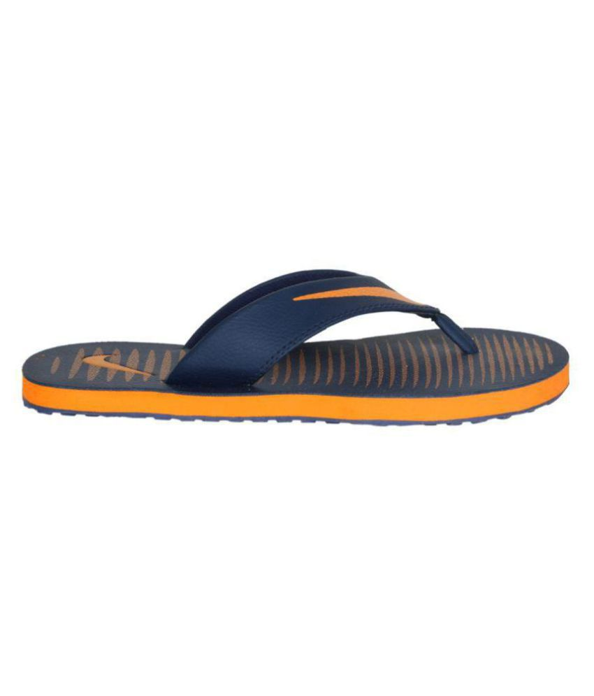 f460cf08d Nike Chroma 5 Blue Thong Flip Flop Price in India- Buy Nike Chroma 5 ...