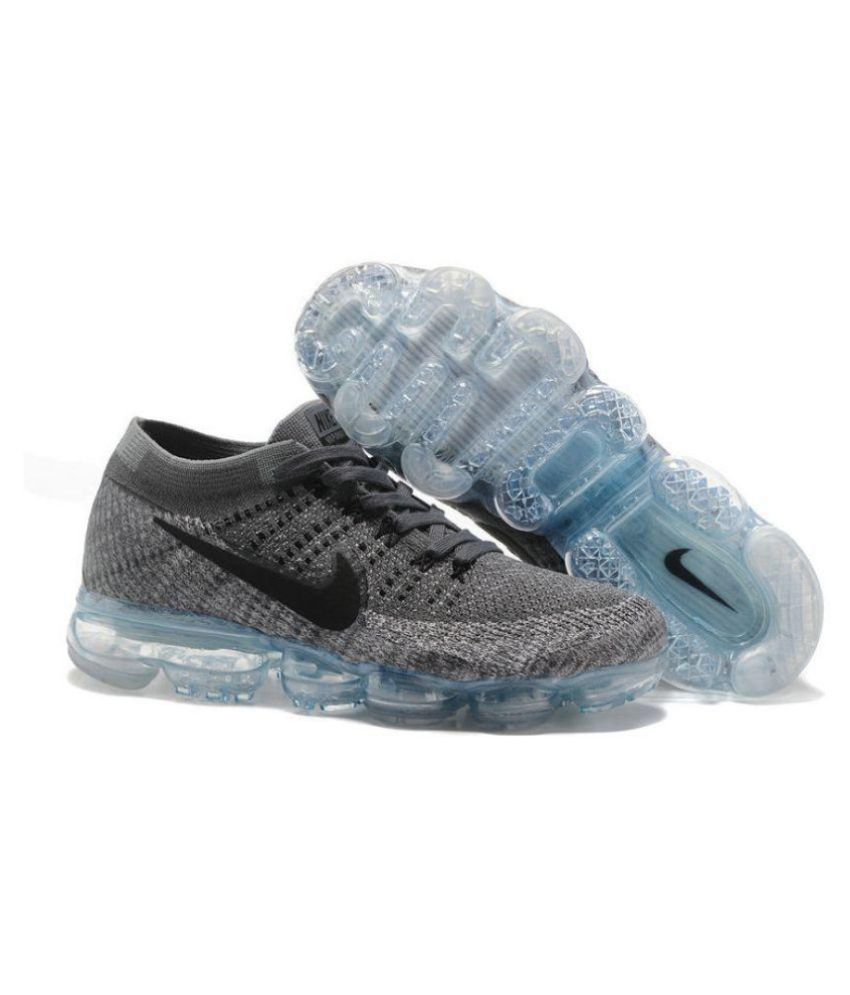 a61a515cce610 Nike Vapormax Ultra Flyknit Gray Running Shoes - Buy Nike Vapormax ...