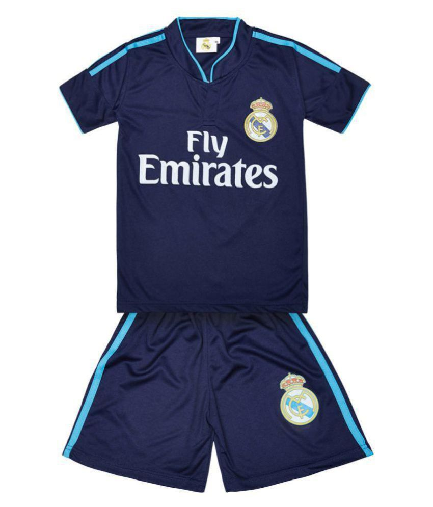 pretty nice 198a8 afacb Replica Real Madrid Ronaldo 7 KIDS Football Jersey - Dark Blue
