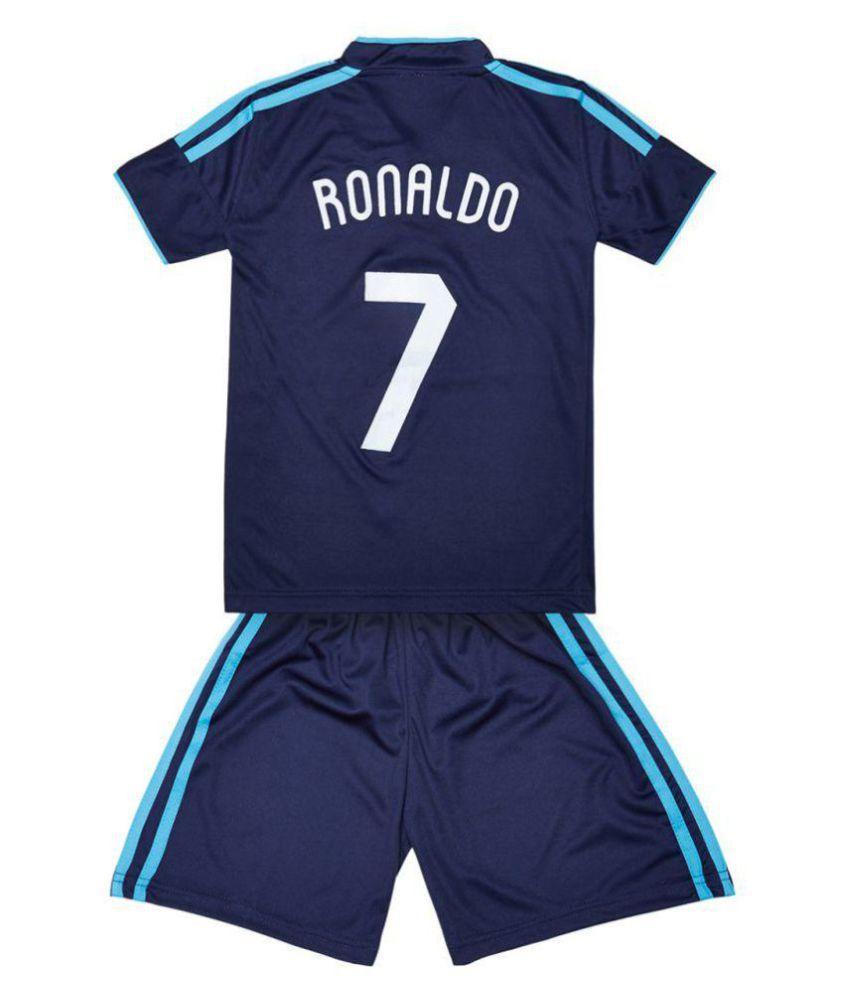 pretty nice 3b3bc 2b485 Replica Real Madrid Ronaldo 7 KIDS Football Jersey - Dark Blue