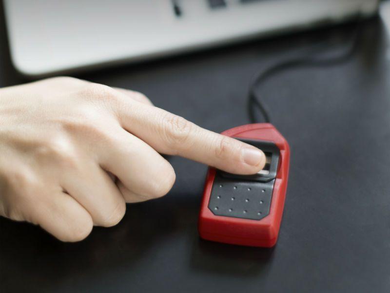 Morpho MSO 1300 E3 Bio Metric Finger Print Scanner for Aadhaar eKYC  (All-in-one Version)