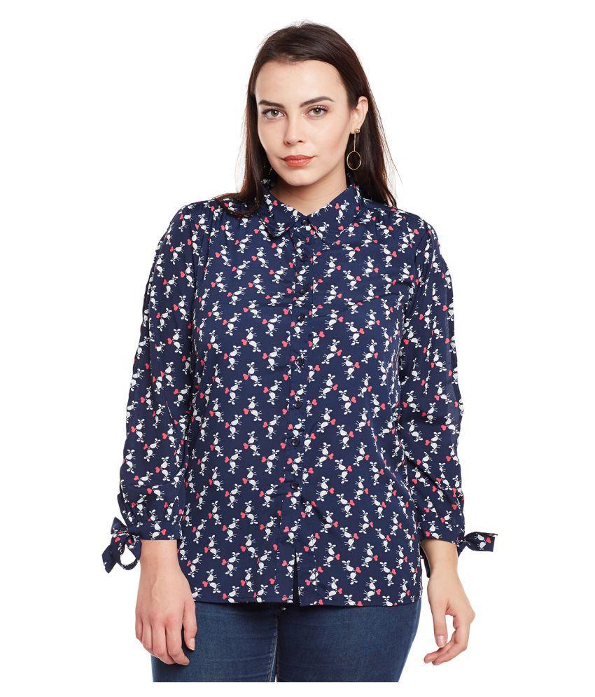 Mediyah Poly Crepe Shirt