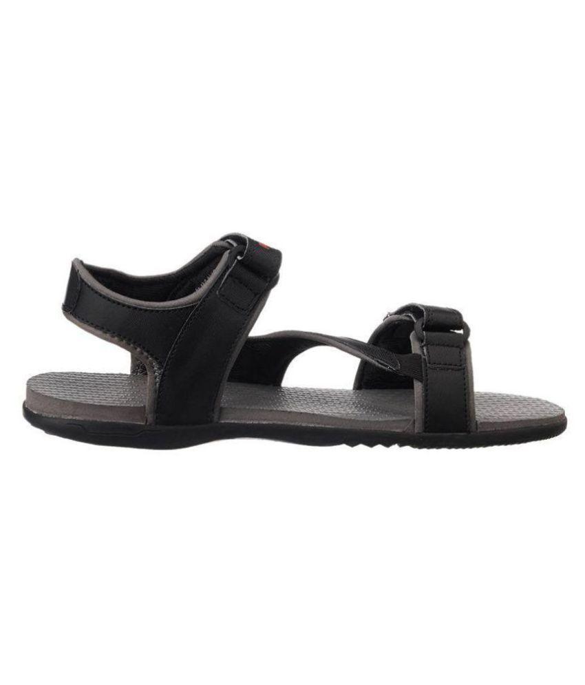9d8944e6c95 Puma Elego DP Sandals Black Floater Sandals - Buy Puma Elego DP ...