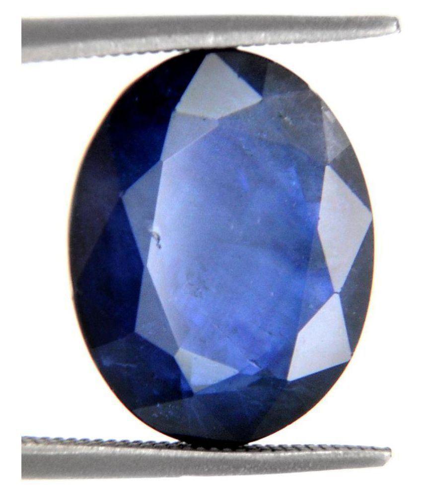 Certified 8.5 -Ratti IGI Blue Blue Sapphire (Neelam) Precious Gemstone