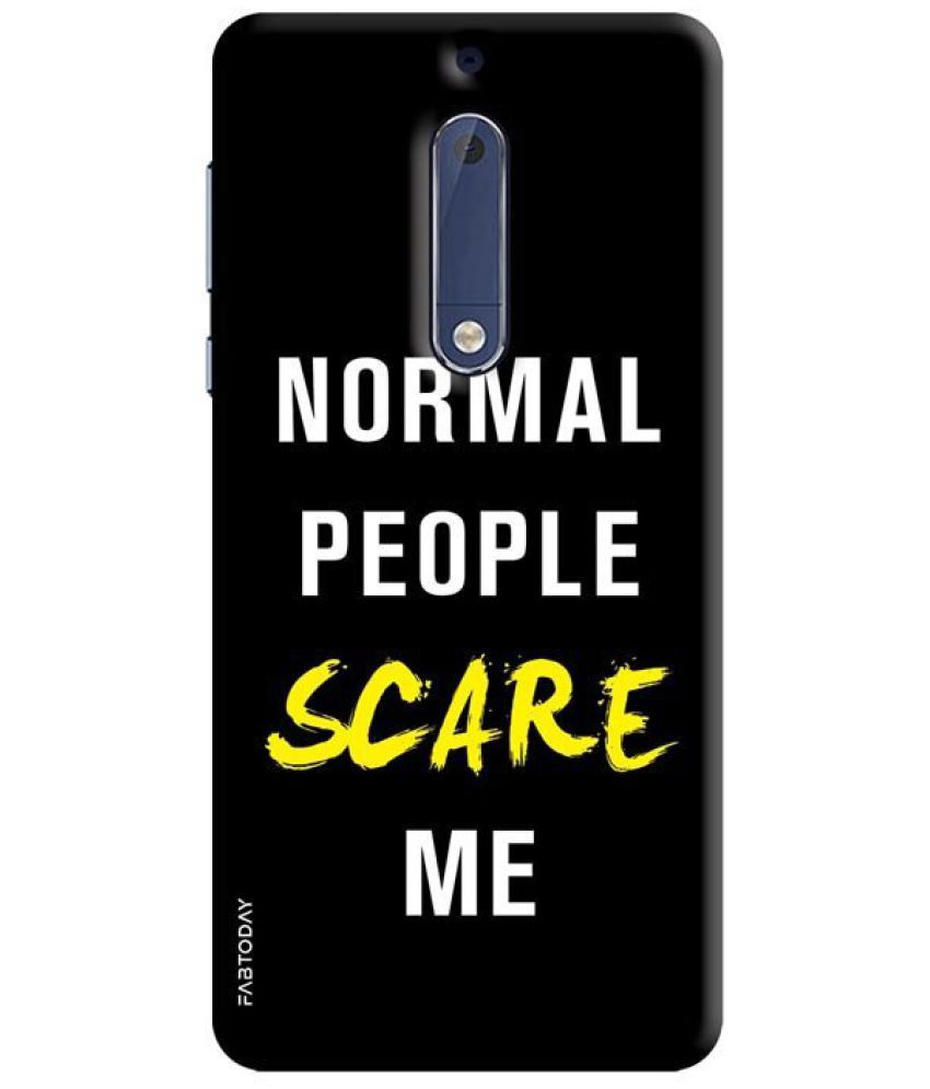 official photos e3bec 5f866 Nokia 5 Printed Cover By FAB TODAY