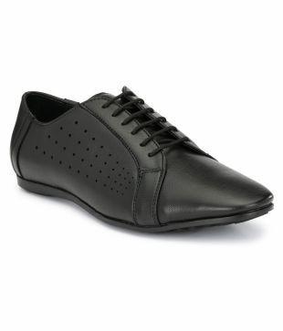 El Paso Outdoor Black Casual Shoes