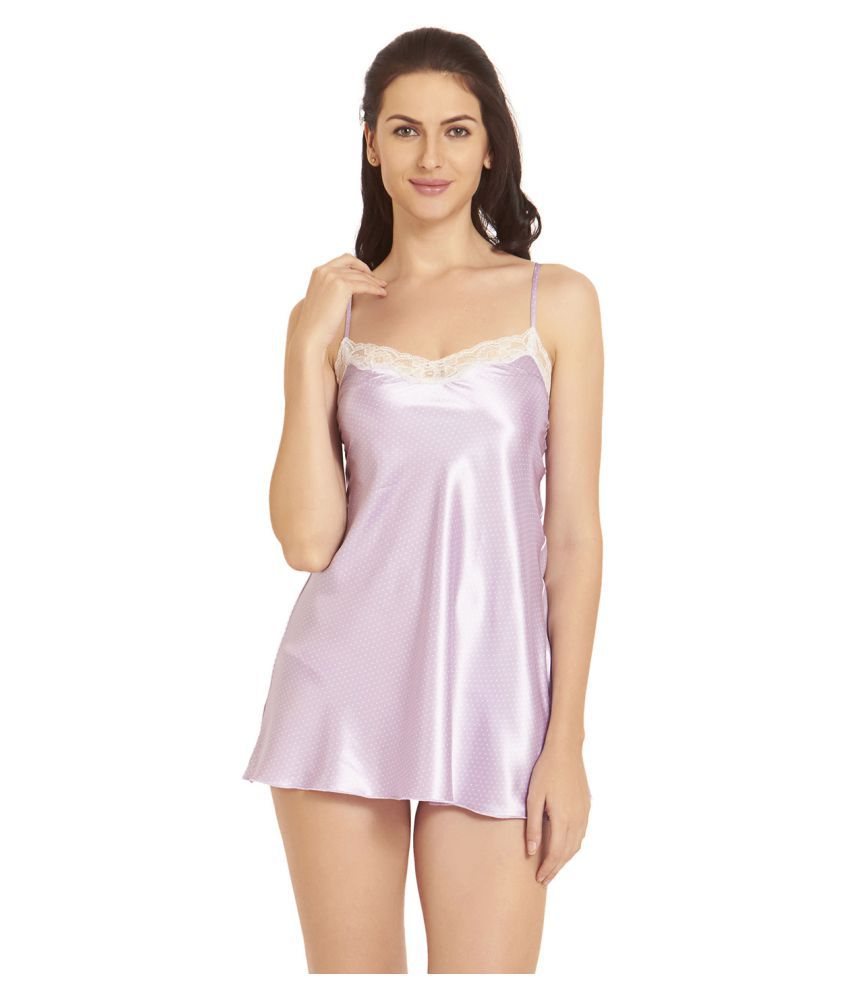 c07f0eb2c Buy Blush By PrettySecrets Polyester Baby Doll Dresses Without Panty -  Multi Color Online at Best Prices in India - Snapdeal