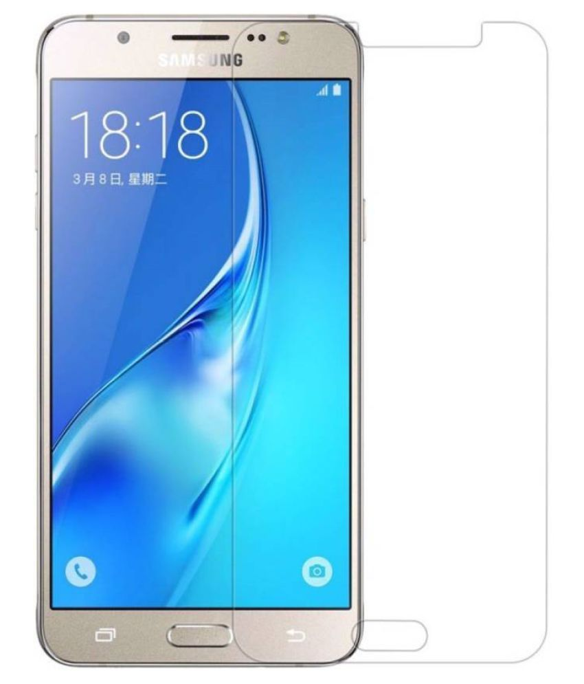 Samsung Galaxy J7 (2016) Tempered Glass Screen Guard By Robux 4D