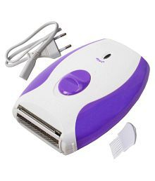 Jm 2 in 1 MAXEL Ladies Washable Cordless Electric Rechargeable Shaver Epilator Trimmer Razor for women Epilator ( Assorted )