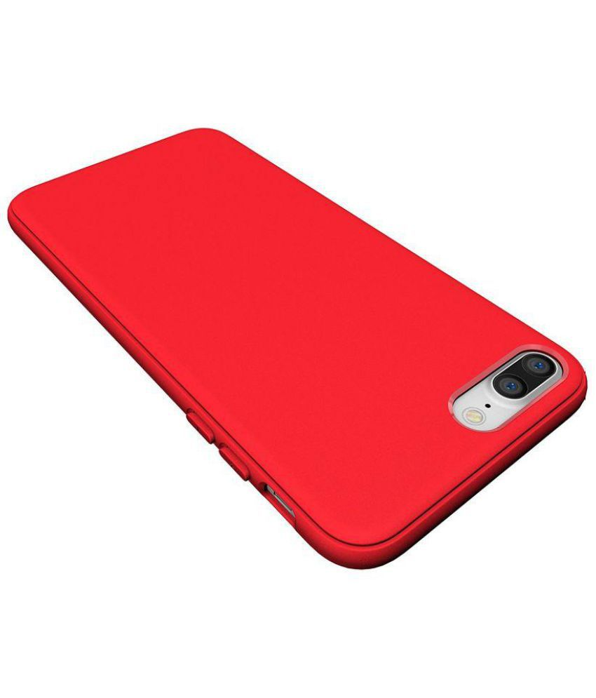 cheap for discount 9583a 15978 Apple iPhone 7 Plus Plain Cases Diztronic - Red - Plain Back Covers ...