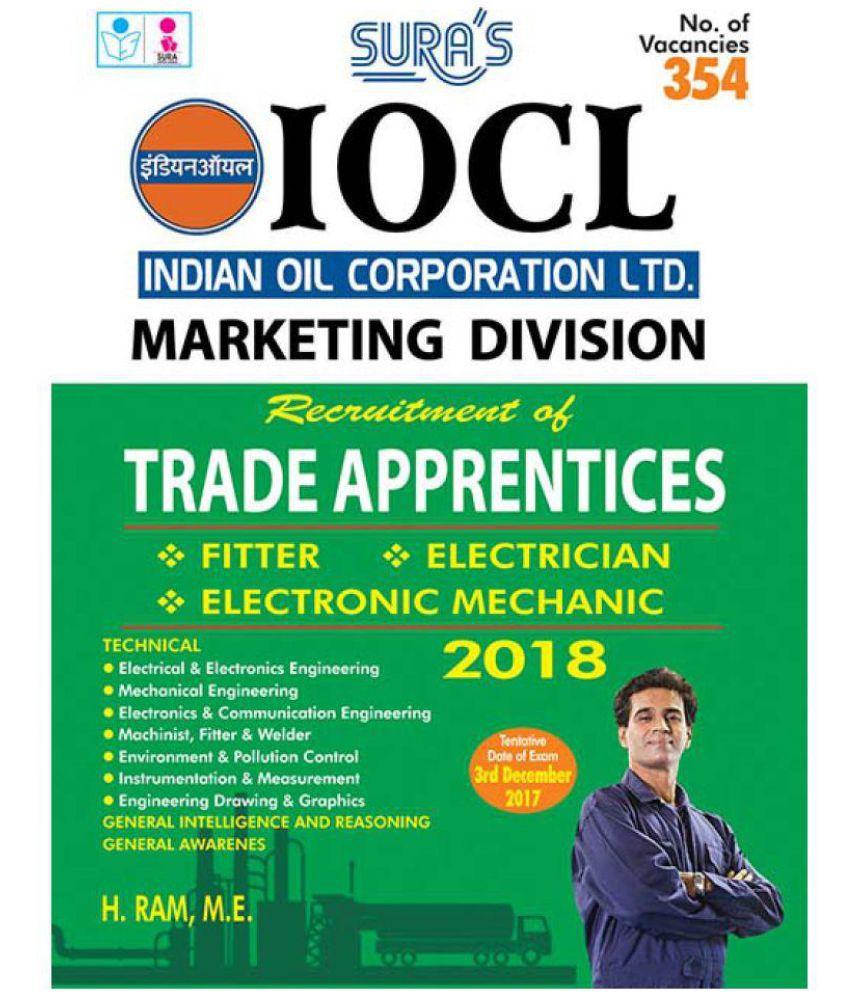 IOCL Marketing Division Trade Apprentices Exam Books 2018
