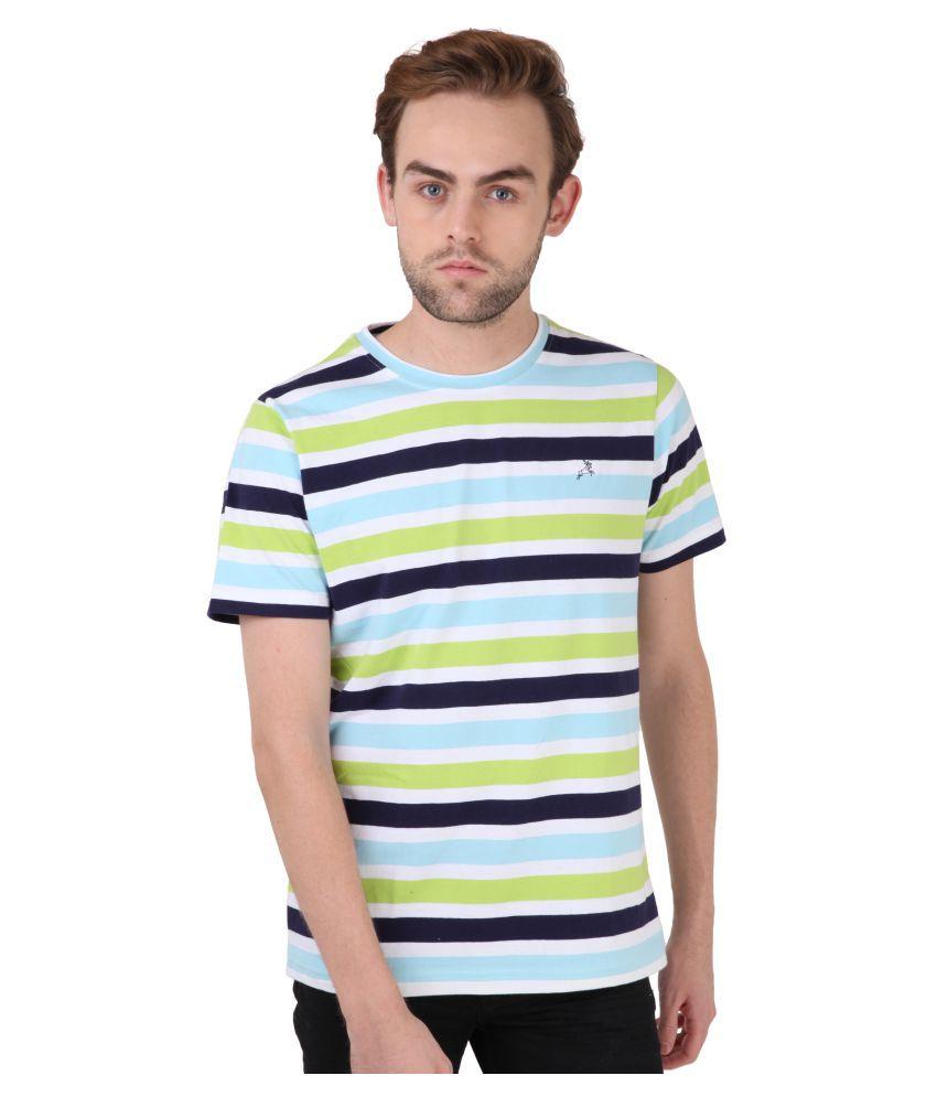 Roman Island Multi Round T-Shirt