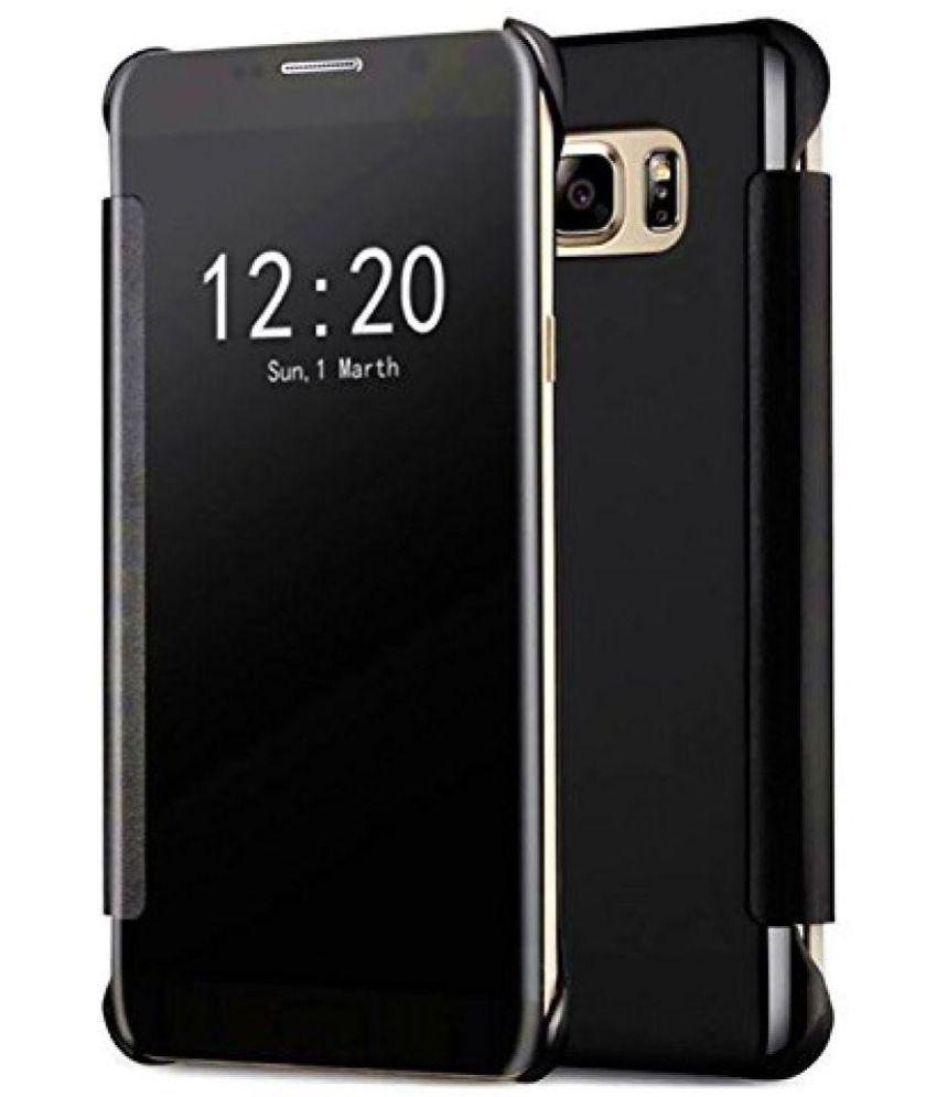 Samsung Galaxy C9 Pro Flip Cover by Tidel - Black