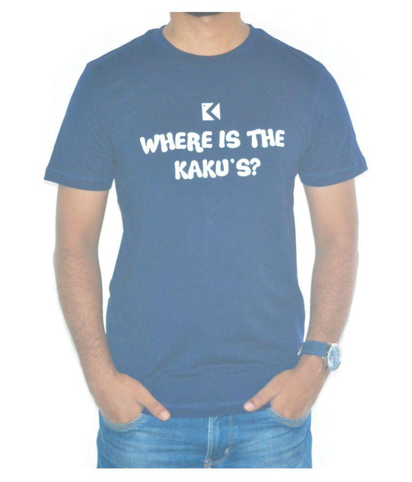 Kakus Collection Blue Round T-Shirt