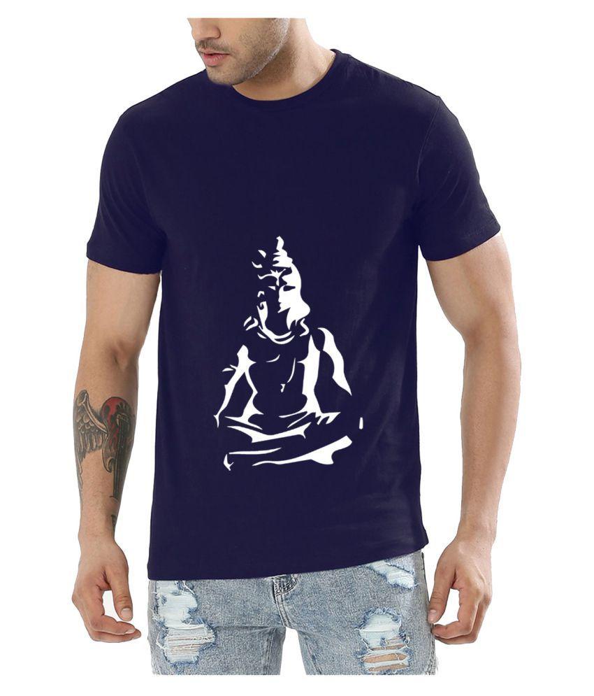 American Kutta Blue Round T-Shirt Pack of 1