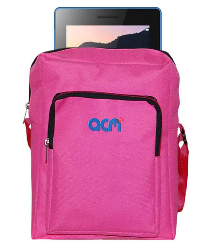 Lenovo Tab 3 7 Essential Pouch By ACM Pink