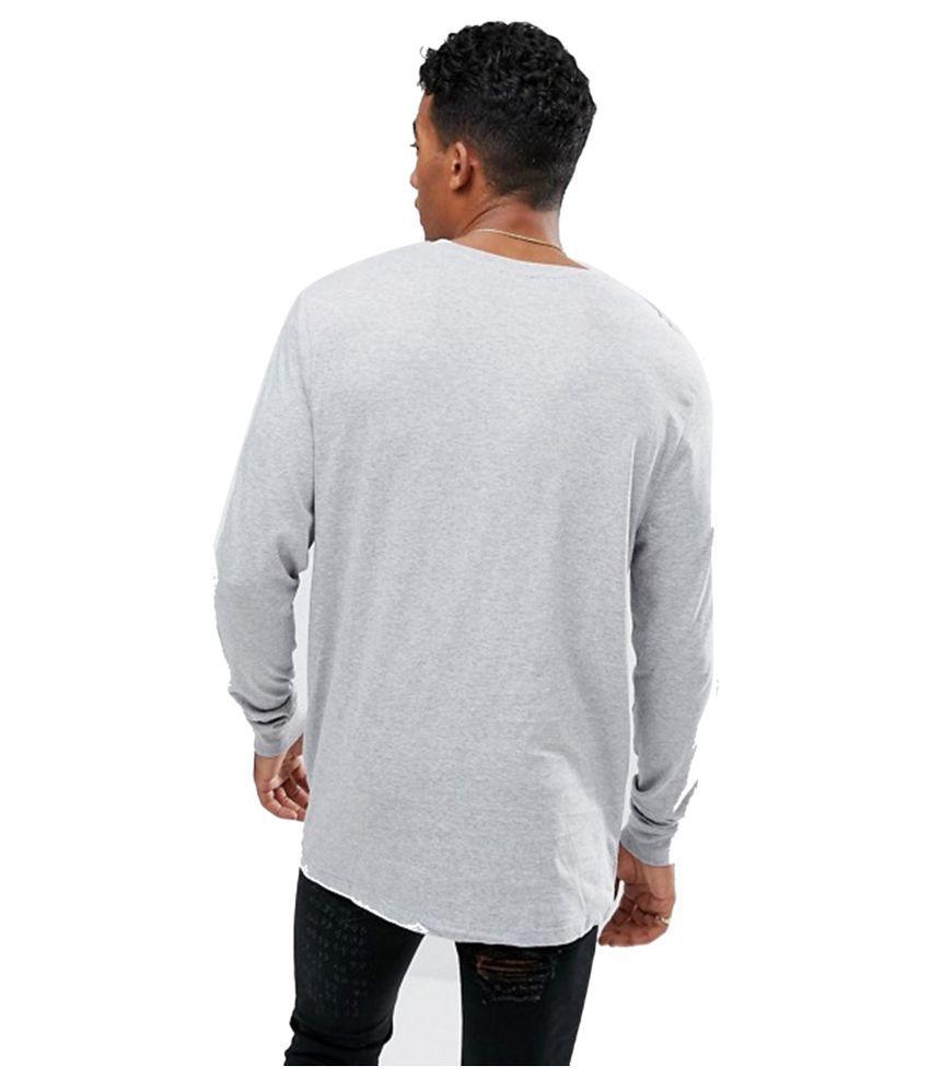 PAUSE White Round T-Shirt Pack of 1