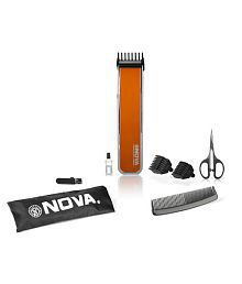 Nova NHT 1055 Advanced Skin Friendly Precision Trimmer For Men - Orange
