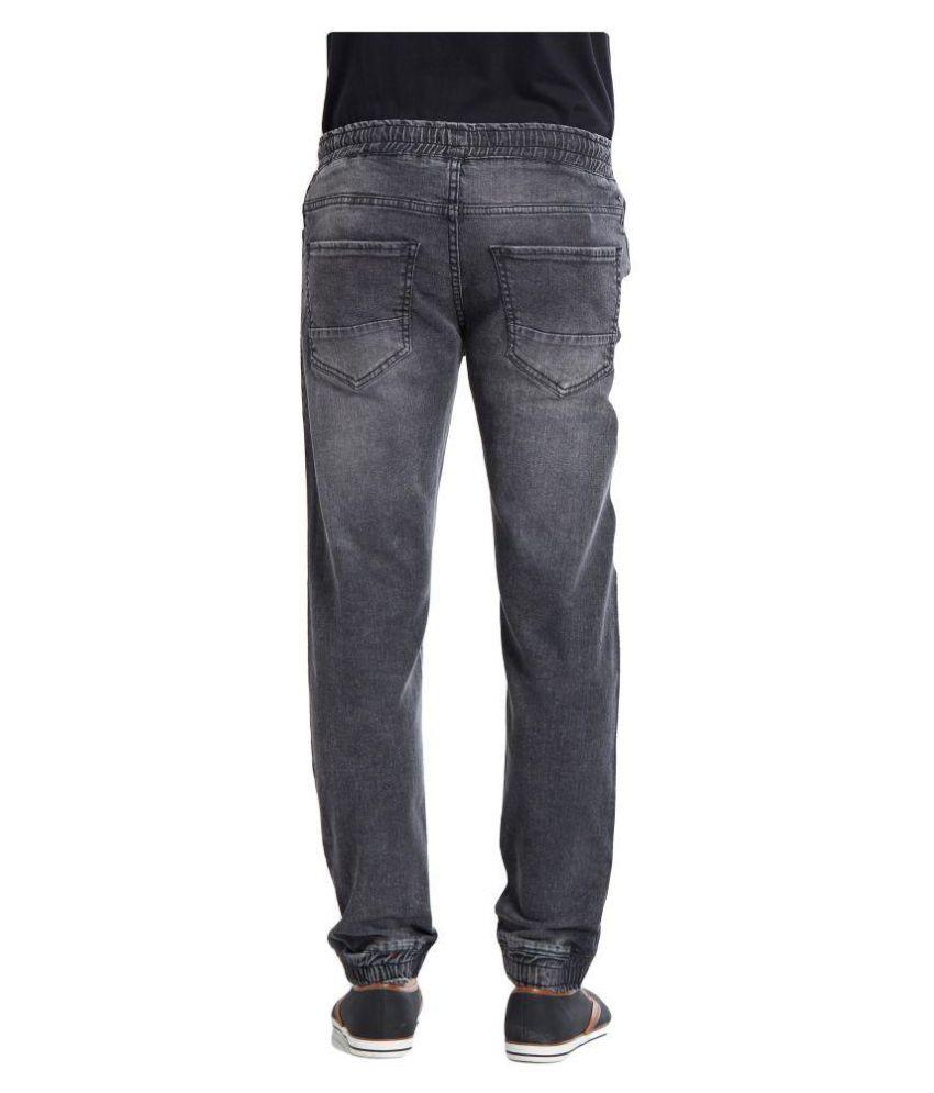 Deezeno Black Regular Fit Jeans