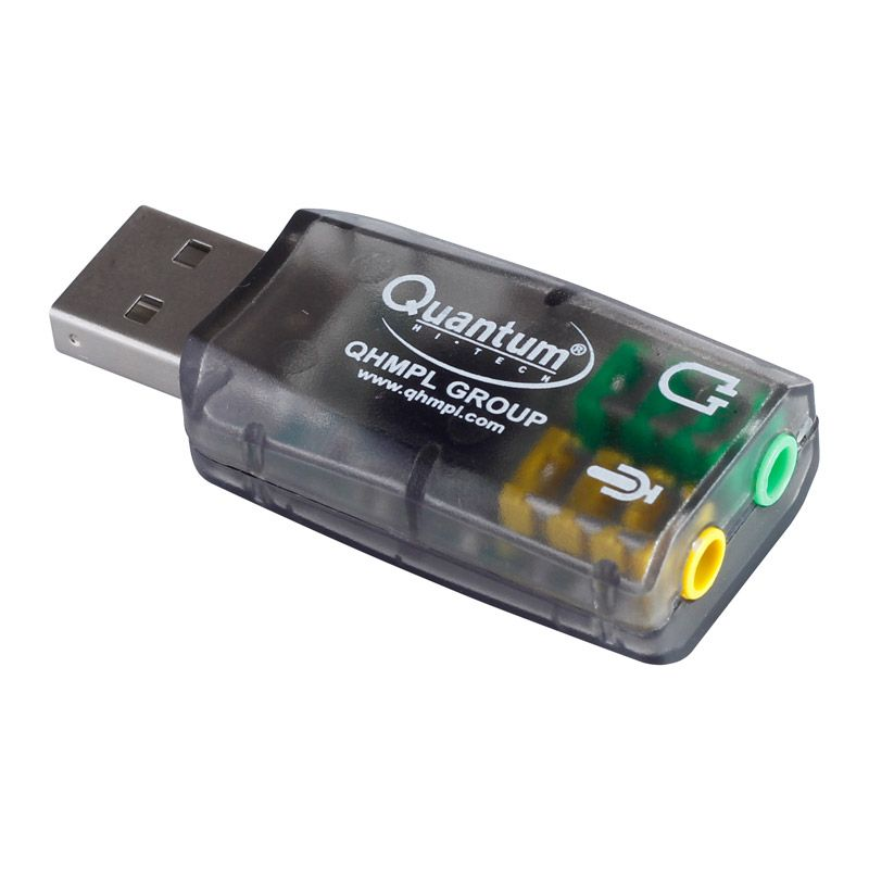 QHMPL QHM 623 3D Virtual 51    USB    Sound Card    USB       Adapter     Black   Buy QHMPL QHM 623 3D Virtual 5