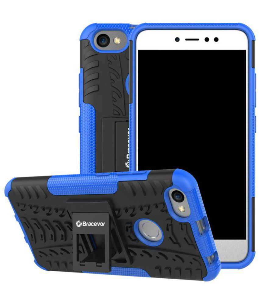 quality design 9d91f b8db8 Xiaomi Redmi Y1 Shock Proof Case Bracevor - Blue