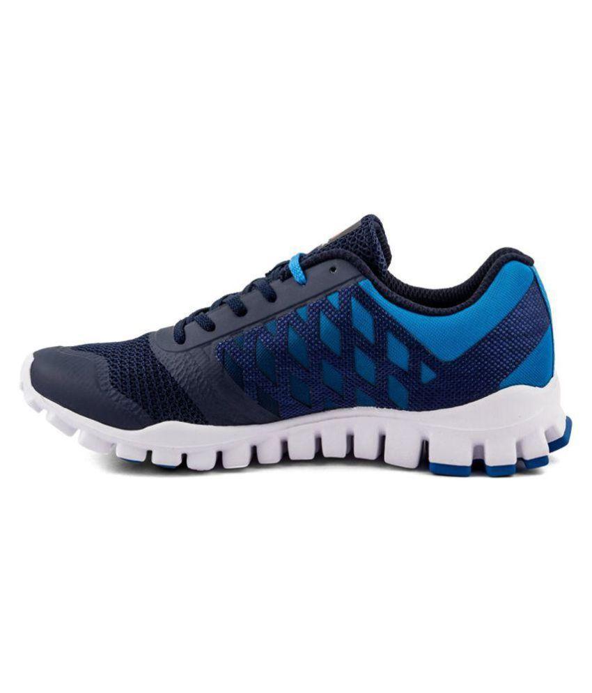 6b63ad783 Reebok REALFLEX TR LP SPORT RUNNING SHOE Blue Running Shoes - Buy Reebok  REALFLEX TR LP SPORT RUNNING SHOE Blue Running Shoes Online at Best Prices  in India ...