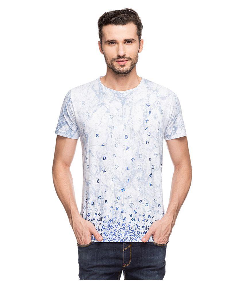Status Quo Blue Round T-Shirt Pack of 1