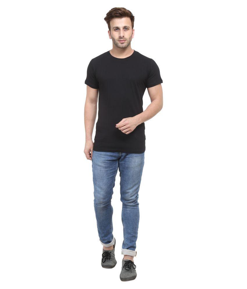 ACOMHARC INC Black Round T-Shirt Pack of 1