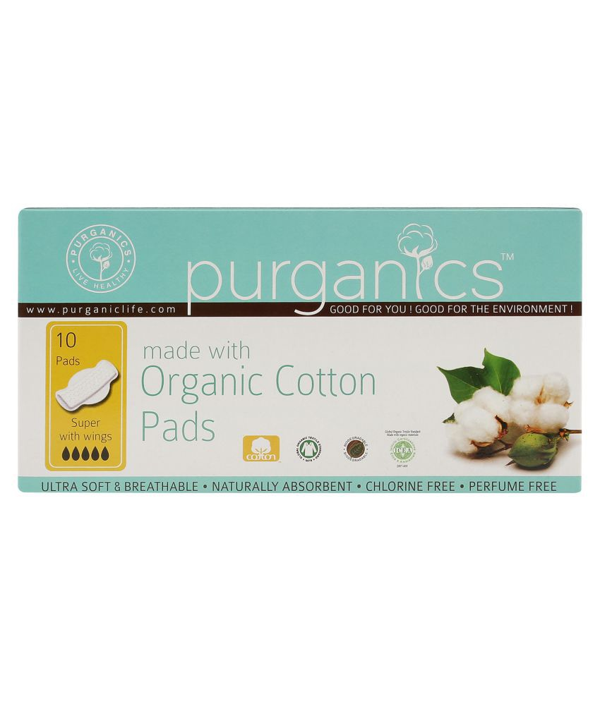 12a7ce71d675 Purganics Sanitary Napkins Large 10 Sanitary Pads: Buy Purganics Sanitary  Napkins Large 10 Sanitary Pads at Best Prices in India - Snapdeal