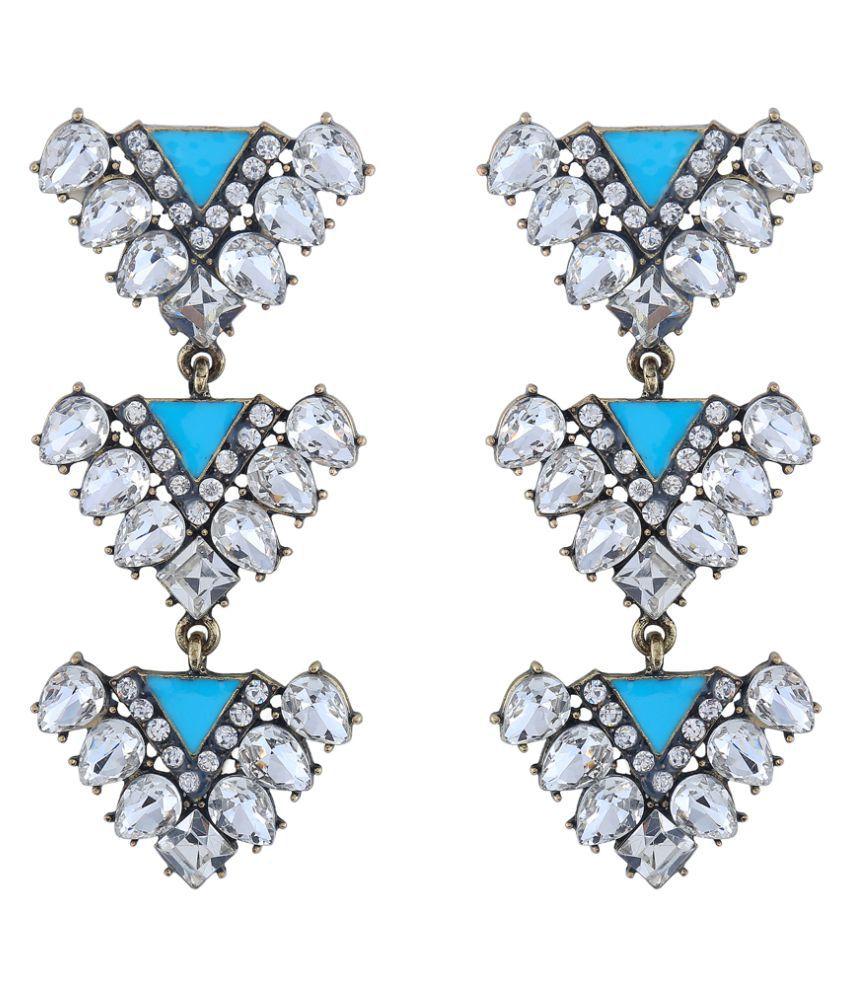 Appealing Morning Muse Crystal Earrings