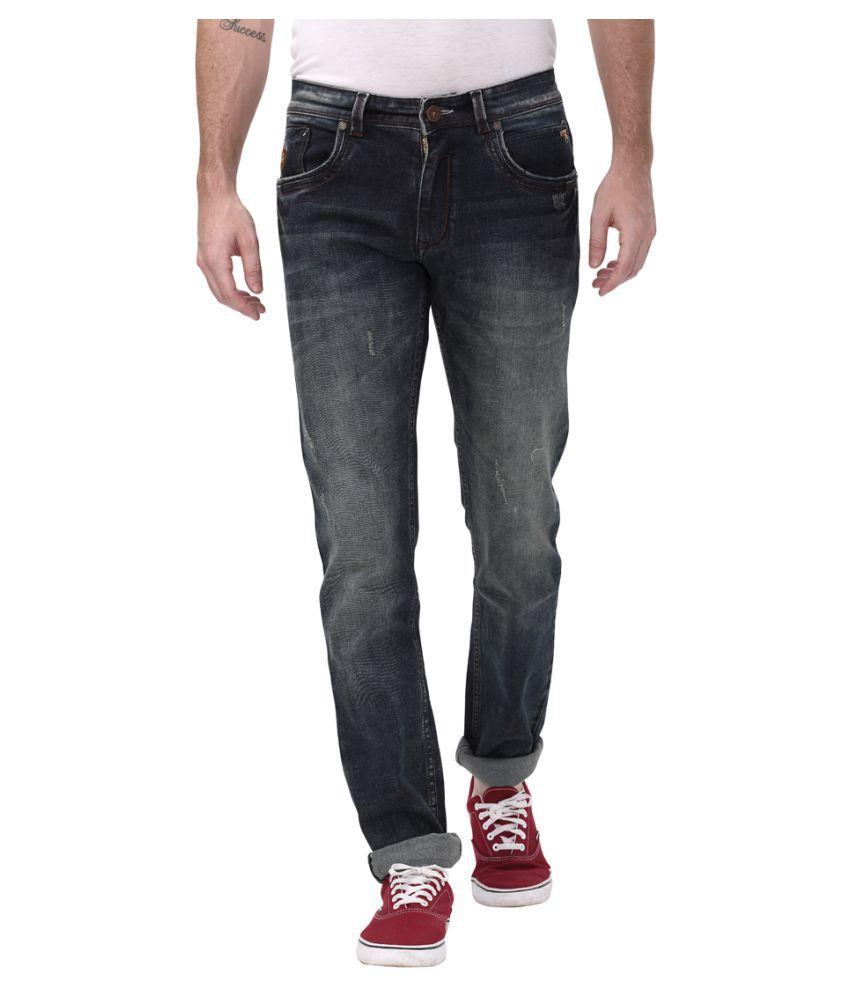 Apris Dark Blue Slim Jeans