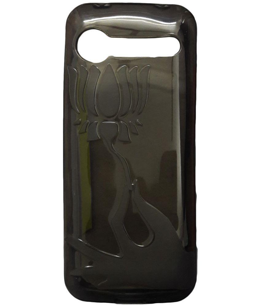 best loved 70a08 d9b40 LYF Jio Phone F61F Plain Cases ibnelite - Transparent