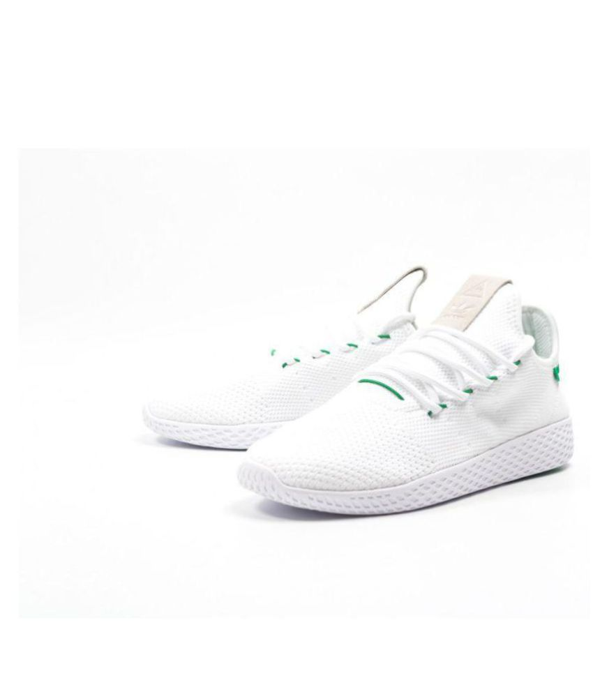ed37f433549d0 Adidas Pharrell Williams White Casual Shoes Adidas Pharrell Williams White  Casual Shoes ...