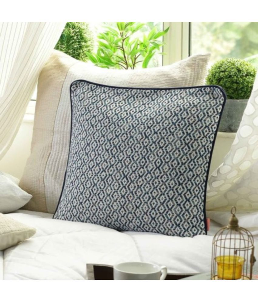 SOLAJ Single Cotton Cushion Covers 45X45 cm (18X18)