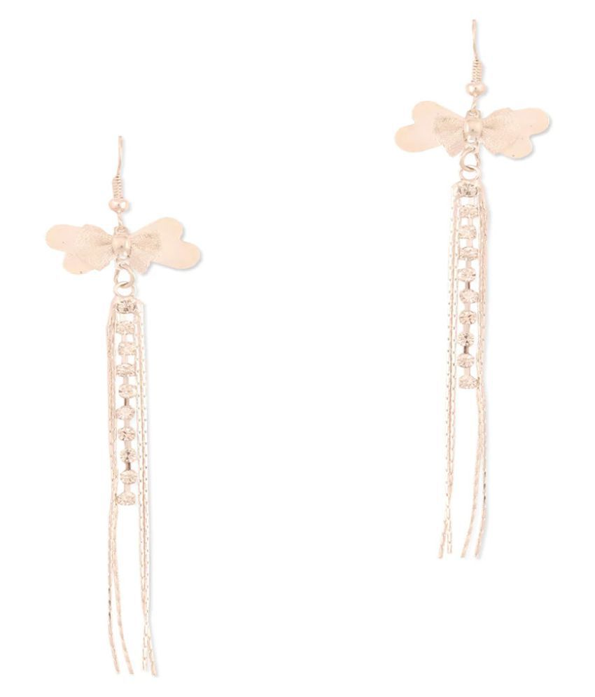 Bling Studio P:resents  Silver Studded Butterfly Earrings