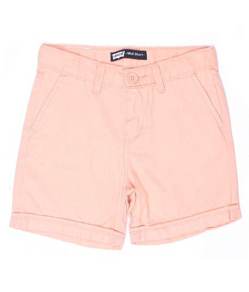 Levi's Girls Pink Short