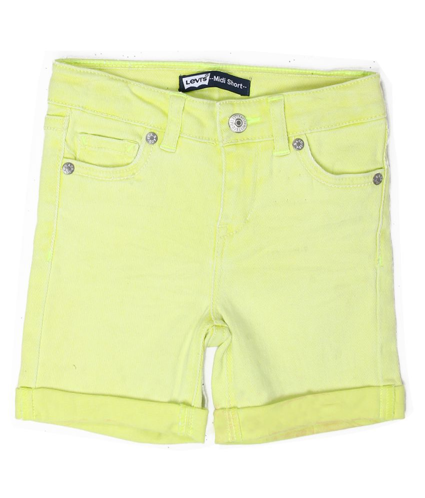 Levi's Girls Yellow Short